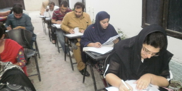 NTS GAT class in evaluation test